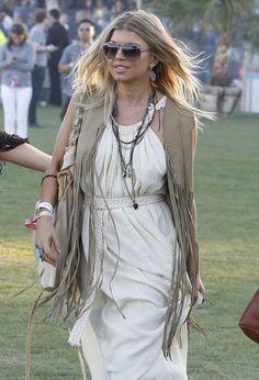 Fergie. The dress = love