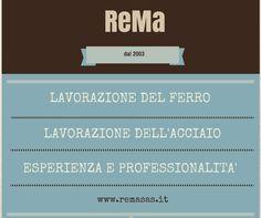 ReMa Fabbro Monza Brianza e Milano Tel: 039 916 47 29 Design, Iron, Tecnologia