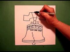 Let S Draw The Liberty Bell Youtube