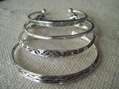 AfricaNomad.com · Hand-Crafted Silver Bracelets