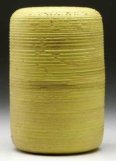 Gertrude and Otto Natzler; Glazed Ceramic Vase.
