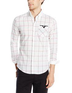 6f456b8c080 Doublju Mens Casual Slim Fit Plaid Shirts at Amazon Men s Clothing store   Button Down Shirts