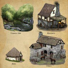 Algadon Buildings (2) by Seraph777 on DeviantArt