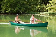 Canoeing is a great way to enjoy the crystal clear Courtois, Huzzah, and Meramec Rivers. Bass' River Resort offers the finest floating services on Missouri's most popular streams in the Ozarks. We offer canoe trips varying from 6, 7, and 13 mile lengths. Our most popular floats are those floating to and from the campground, which is located right along the Courtois River.