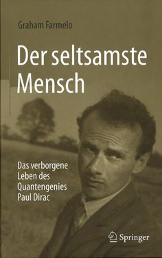 Springer's German edition of Graham Farmelo's The Strangest Man