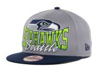 Find the Seattle Seahawks New Era NFL Gray Out and Up 9FIFTY Snapback Cap    other 43d8cff99