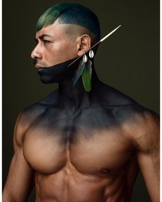 contribution for Hairdresser of The Year 2017 Norway! #hair #fashion #fashionshoot #brazilian #native #norway #åretsfrisør #oslo #hopehair #muscle #latino #body #cool #art #man #tribal #job #hairstylist #aveda #avedacolors #avedastylist #avedasalon #avedacolor #avedahair