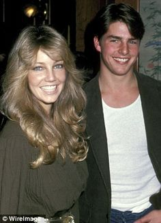Tom Cruise And Heather Locklear.
