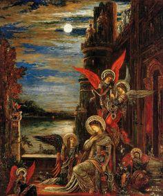 Ste Cécile - Anges annonçant son martyr imminent