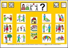 MATERIALES - Tableros de Comunicación de 12 casillas: Juegos populares… Autism Spectrum Disorder, Kids Rugs, Teaching, Chore Charts, Schools, Google, Manners, Special Education, War