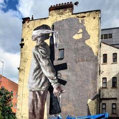 mural work in progress in Manchester by @h_y_u_r_o