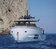 Arcadia Yachts : Le Sherpa en navigation à Capri.