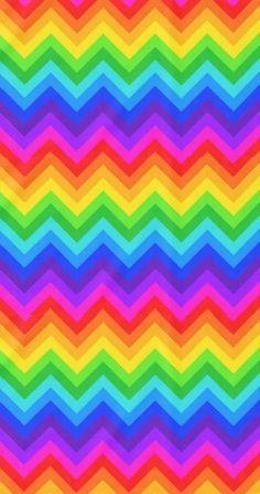 Chevron Wallpaper, Rainbow Wallpaper, Cute Patterns Wallpaper, Apple Wallpaper, Colorful Wallpaper, Wall Wallpaper, Wallpaper Backgrounds, Colorful Backgrounds, Chevron Backgrounds