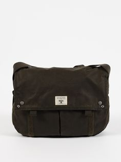 Universal Works x Barbour Active Tarras Courier Bag | Universal Works x…