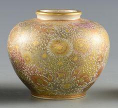 3 Japanese Satsuma Porcelain Items : Lot 275