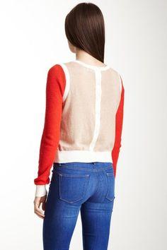 SHAE Button Back Sweater on HauteLook