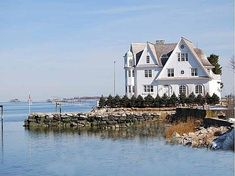 Steps Above Sea Level, A Modern Manse Made to Look Old - House of the Day - Curbed National