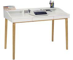 Bureau Lindenhof | WestwingNow Home Office, Office Table, Grande Niche, Etagere Cube, Kid Desk, Interior Inspiration, Corner Desk, Modern, Bedroom