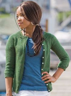 Gemma Cardigan $4.99 - I love the simplicity of this sweater with the surprise of the lovely braided trim!
