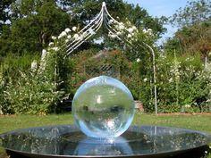 Výsledek obrázku pro glass garden sculpture