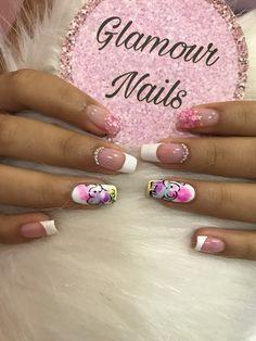 Hello Nails, Glamour Nails, Fabulous Nails, Nail Arts, Fun Nails, Acrylic Nails, Nail Designs, Beauty, Chic Nails