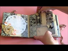 Mini album using the Printery collection from Prima along with lots of other goodies from I am Roses, Tattered Angels, Ranger and more. :D This album is avai...