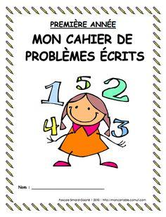 mon cartable | 1er cycle - Résolution de problèmes Division Activities, Kindergarten Math Activities, Teaching Math, Daily Math, Math Books, Math Addition, 1st Grade Math, Grade 2, Pre Writing