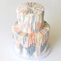 cake-pastel-fringe-food-art by Alana Jones Mann