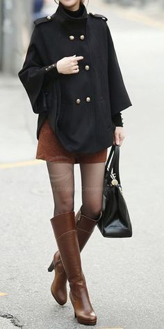 fall style | fabulous Cape Coat.