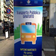 Trasporto Pubblico Gratuito anche per tutto il 2012