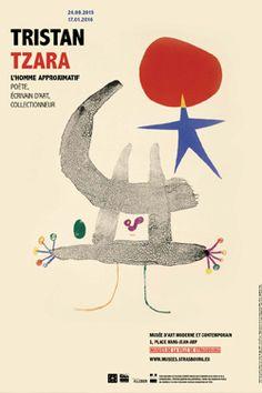 Illustration de Tristan Tzara, l'Homme approximatif