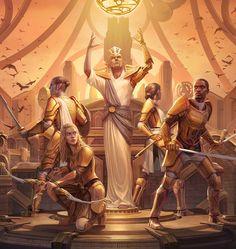 Mural of Royal Guardians