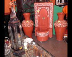Ambientazione (Arredamento) prodotti hammam, Ambientazione tipica