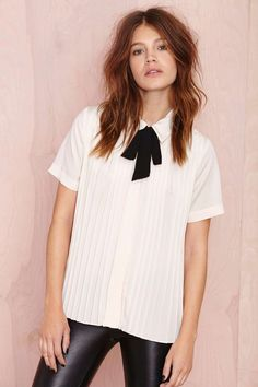 Nasty Gal Modding Off Blouse at Nasty Gal