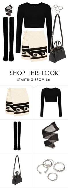 A fashion look from July 2016 featuring cropped white shirt, wrap tie skirt and pantyhose lingerie. Browse and shop related looks. 20s Outfits, Skirt Outfits, Fall Outfits, Cute Outfits, Fall Fashion Skirts, Cropped White Shirt, Monochrome Fashion, Long Sleeve Crop Top, Isabel Marant
