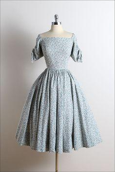 1950s dress by Henry Rosenfeld.