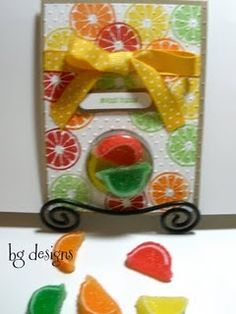 Stampin' Up Sweet Treat Cups, Cards