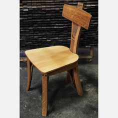 Silver Oak Chair now featured on Fab.  Handmade from used wooden barrels!