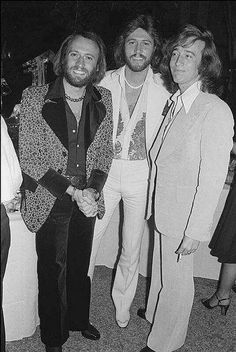 THE BEE GEES | Maurice, Barry and Robin