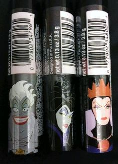 Another new Disney collection at Walgreens? Here's what we know so far about the Fall 2015 Disney Villains collection. Disney Villains Makeup, Disney Makeup, Disney Merchandise, Fall 2015, Voss Bottle, Wicked, Nerd, Geek Stuff, Nails
