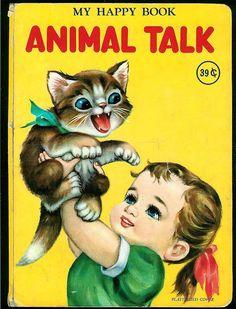 """My Happy Book - Animal Talk"" , via eBay"