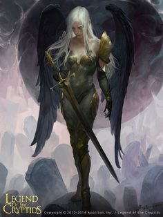 Mivian,Black Angel of the night sky,Guardian of the sleeping dead keeper of the graves.