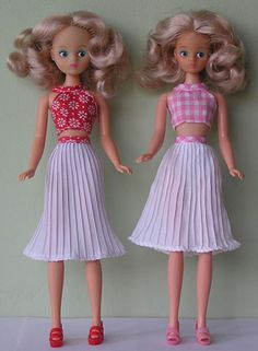 Jaselle's Daisy Doll Outfit Variants Jitterbug and jive