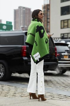 Street style from NYFW Fall 2018