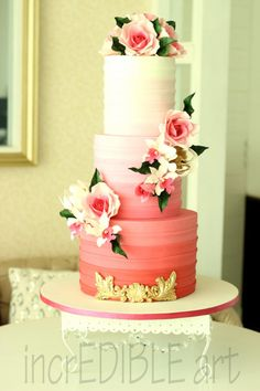 Cloud Nine! Wedding Cake by Rumana Jaseel