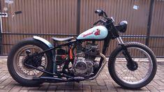 "Kawasaki "" KZ 200 1980 "" Custom Chooper Bobber"