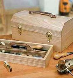28-149679 - Craftsmans Portable Toolbox Woodworking Plan No5…