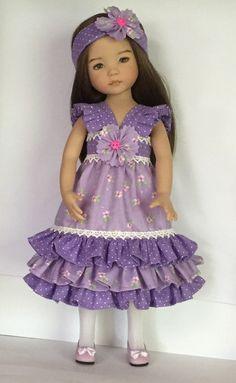 Effner Little Darling Dress A Flower