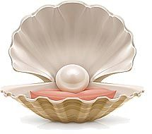 """""""Tests for Identification of a Real pearl or Moti: 1) Rub #Pearl lightly across upper front teeth. Real Pearl feels rough. While imitation Pearl gives smooth feeling. 2) Examine the Pearl surface with a Loupe. Real Pearl appears unusually fine grained whereas Imitation Pearl appears lumpy. 3) Bounce the Pearl in your hand.Real Pearl will give heavy feelings and the Imitation one will give unusually light weight feelings."""