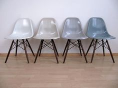 eames chairs grey Charles & Ray Eames, Colorful Chairs, Eames Chairs, Grey Chair, Timeless Design, House Design, Interior Design, Ebay, Shell